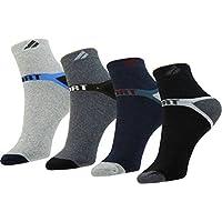 YASH ENTERPRISES Solid Ankle Length Socks????For Men (Pack of 4)