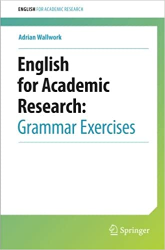English for Academic Research: Grammar Exercises: 9781461442882 ...