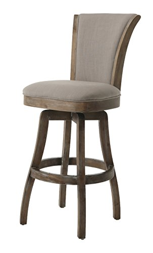 Pastel Furniture GL-219-30-ND-091 Glenwood Swivel Barstool, 30