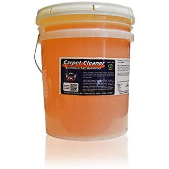 Carpet Cleaner and Upholstery Shampoo 5 Gallon