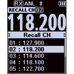 Icom IC-A25N VHF Airband Transceiver (NAV & COM channels) by Icom (Image #4)