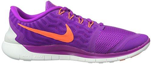 Nike Women's Free 5.0+ Laufschuh lebhaft lila / schwarz / fuchsia glühen / hyper orange