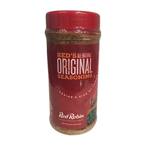 Red Robin All-Natural Original Seasoning 16oz for your Gourmet Burgers and your Favorite Foods by Red Robin redrobin