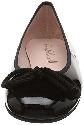 Mujer Rosario Ballerinas Bailarinas Negro shade Negro Pretty pqt5xwOdq