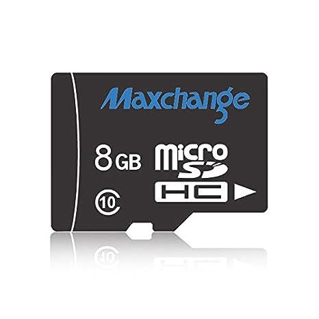 Tarjeta de Memoria Maxchange 8GB de Alta Velocidad Class10 ...
