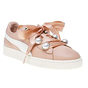 PUMA Basket Bling Femme Baskets Mode Rose