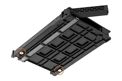 Icy Dock ExpressCage MB741SP-B Rack extra/íble de 1 x 2.5 SAS//SATA HDD//SSD en una Bahia Externa de 3.5