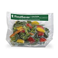 FoodSaver - Bolsas de cocción individuales para congelar, congelar y congelar, de 1 cuarto, 16 unidades