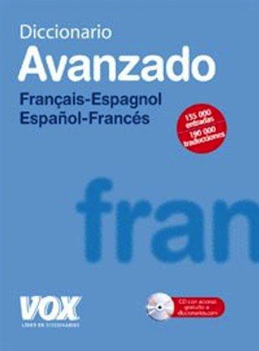 Diccionario avanzado Francais-Espagnol Espanol - Frances/ Advanced Dictionary French-Spanish Spanish - French (Spanish Edition) - Teresa Alvarez
