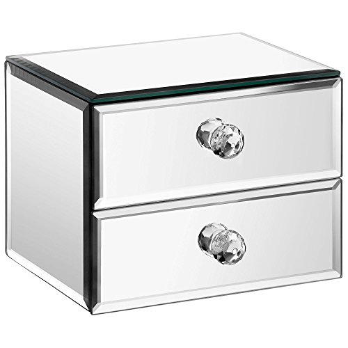 Beautify Mirrored Jewelry Drawers Cleaning