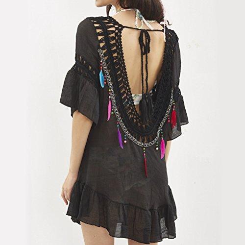 Squisito Donne Nero Di Costume Bikini Signore Bagno Mare Al Vacanza Bagno Da Da Cover Zhuhaitf Delle Design Le Up Per Vestito Costume d6xS1pxqw