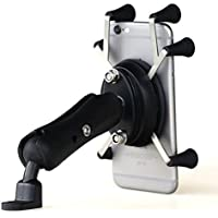 Bike Mount, TraderPlus Bicycle Motorcycle MTB Bike Handlebar Mount Phone Holder Cradle for Universal X-Grip iPhone 7/ 7 Plus/ 6S/ 6S Plus, Galaxy S8 Edge/ S8/ Note 5, LG Nexus 5/V10,LG G5HTC One