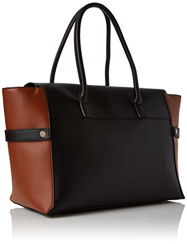 Multicolore Black Cabas raven Mix Fiorelli Barbican TESqwYv