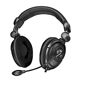 SpeedLink SL-8795-SBK Medusa NX - Auriculares 5.1 con micrófono para juegos (USB)