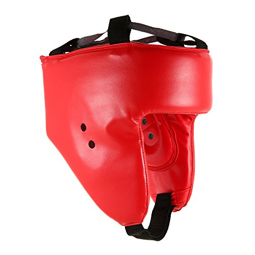 Lixada Boxing Helmet Head Guard Headguard Kick Brace Protection Training Muay Taekwondo Sparring Helmet Headgear Boxing Head Protector