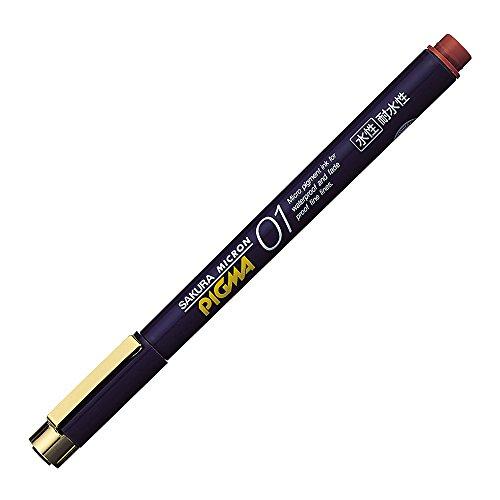 Sakura Pigment Ink Pen, Pigma Micron 01, Brown (ESDK01#12)