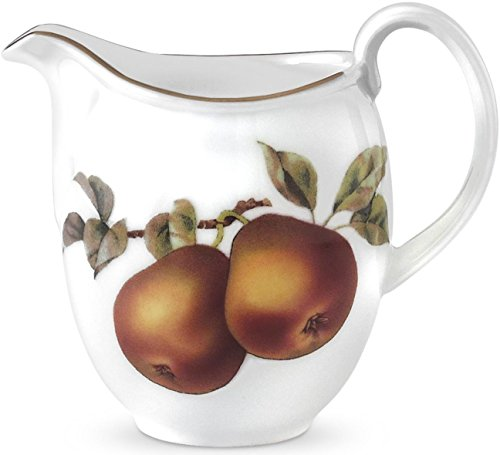 Royal Worcester Fine Porcelain - Royal Worcester Evesham Gold Porcelain Creamer