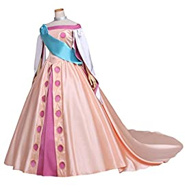 CosplayDiy Women's Beautiful Costume Dress for Princess Anastasia Cosplay