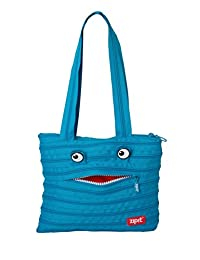 ZIPIT Monster Children Tote Bag, Turquoise Blue