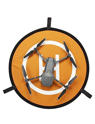 Universal Portable Drone Landing Pad Foldable Waterproof Launch Pad for RC Drones Helicopter DJI Mavic Pro, Phantom 2/3/4/4 etc Pro Dia -