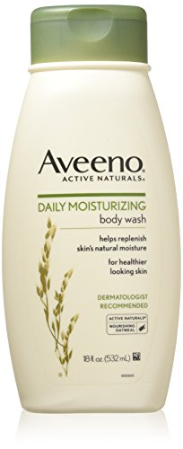 Aveeno Daily Moisturizing Body Wash, 18 Fl. Oz - Shower Wash Natural