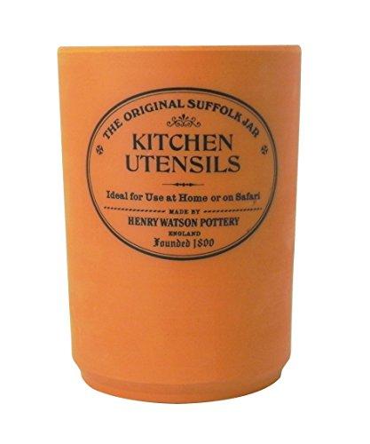 Utensil Holder in Terracotta Made in England ()