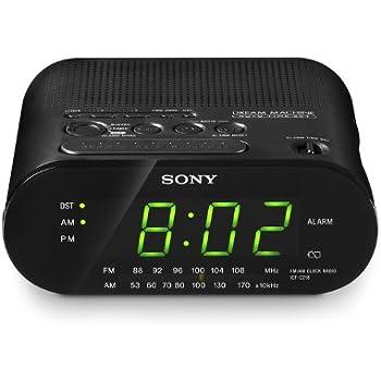Sony ICFC218 Dream Machine Clock Radio (Black)