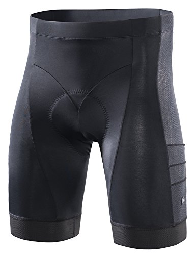 Price comparison product image RION CYCLING Men's Bike Shorts Padded Tights Bicycle Pants (Steed-C8,  XL)