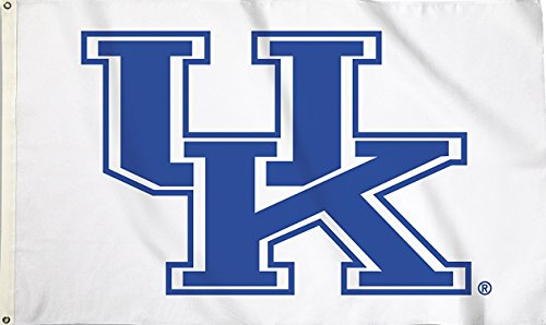 NCAA Kentucky Wildcats Flag with Grommets, 3' x 5', Blue
