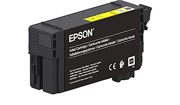 Epson Singlepack UltraChrome XD2 Yellow T40C440(26ml) - Cartucho ...