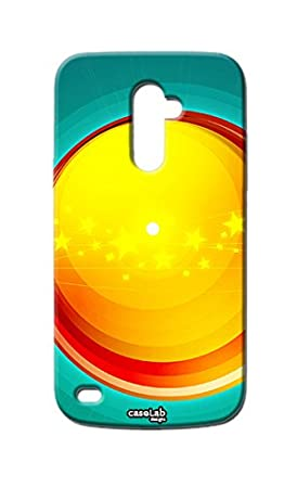 Funda carcasa Case cicle Amarillo Star para LG L Bello D331 ...