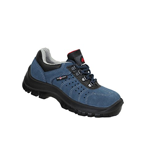 Aimont Truna S1P SRC Sicherheitsschuhe Arbeitsschuhe Berufsschuhe Businessschuhe Trekkingschuhe Blau Blau