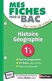 Mes fiches pour le BAC Histoire-Géographie 1re S