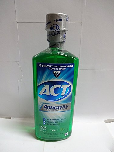 Anticavity Fluoride Mouthwash Alcohol Free 18 Ounce