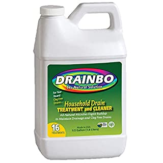 Drainbo Household Drain Treatment and Cleaner, 1/2-Gallon - 73784