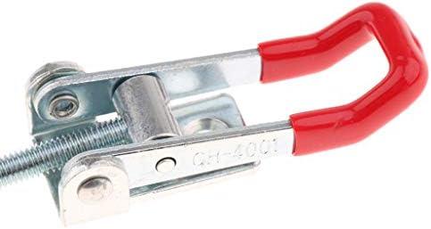 トグルクランプ ラッチ型 固定具ラッチ クランプクリップロック式 固定ツール GH-4001 S 鉄製
