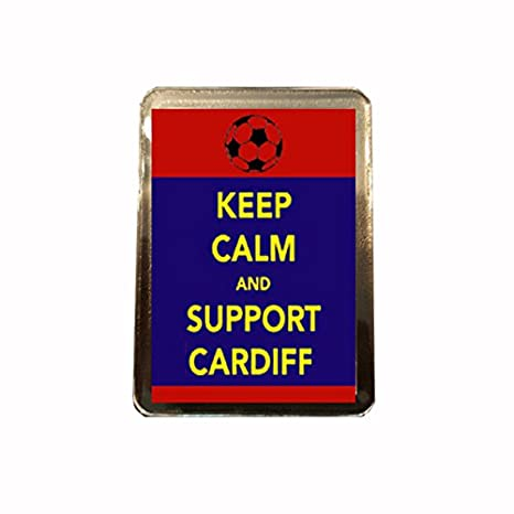 Amazon.com: Cardiff City F.C – Keep Calm imán para nevera ...