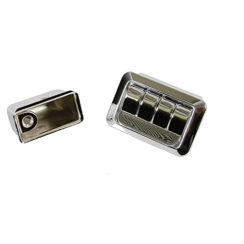Eckler's Premier Quality Products 50-204619 - Chevelle Ashtray Assembly, Armrest, Rear, 2-Door Coupe