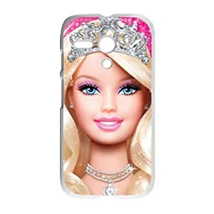 Motorola Moto G Phone Case White Barbie ES3TY7878705