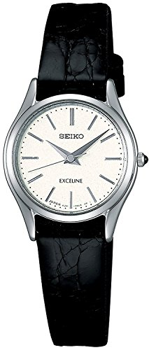 SEIKO watch EXCELINE Exceline quartz sapphire glass anti-reflective coating inside Water for life SWDL209 Ladies