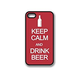 CellPowerCasesTM Keep Calm Drink Beer iPhone 5 Case - Fits iPhone 5 & iPhone 5S