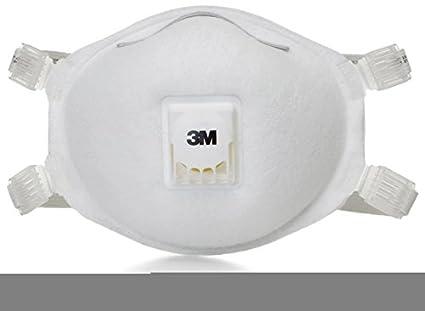 3 M 8512 N95 estándar 8512 desechable respirador de partículas con válvula de exhalación Cool Flow