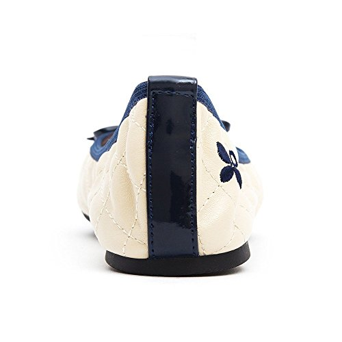 Butterfly TwistsOlivia - Zapatillas de ballet mujer Hueso - Cream Navy