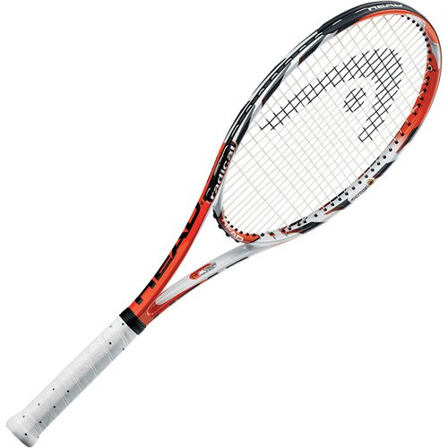 HEAD Micro Gel Radical MP Tennis Racquet (4-1/4), Strung