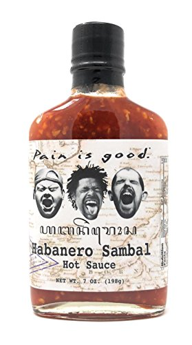 Pain is Good Habanero Sambal Hot Sauce - 7 oz