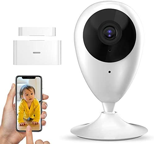 Wireless Security Camera System with Motion Detection,1080P HD WiFi Cameras for Home Security,Home Surveillance Camera WiFi Alarm System,Baby Monitor with Camera and Audio【4 Piece package,2020 Update】