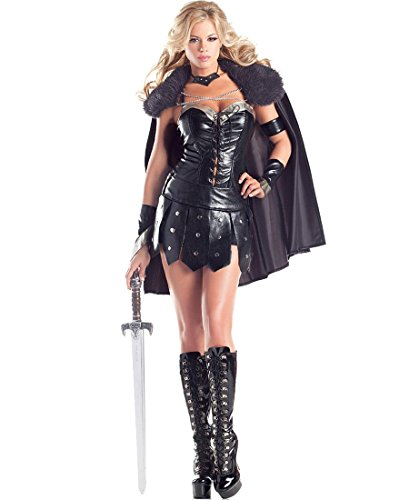 Warrior Princess Adult Costume - Small/Medium -