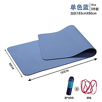 YOOMAT insipide Élargissement Tpe 80cm Tapis de Yoga