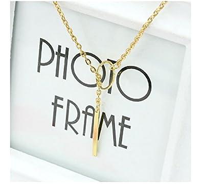 Collier Fantaisie Femme Pas Cher Kolylong Perles Pour Bijoux Femmes Mode  Imitate Simple Collier De Perles Bib Choker DéClaration De Collier  (Or )  BB-975 ... e339ef410826