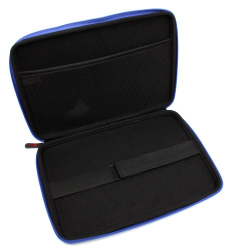 New DURAGADGET Brilliantly Resilient Hard Shell Case Cover Sleeve With Internal Ergonomic Designed Net Accessories Pouch In Vibrant BLUE COLOUR For Asus Transformer Book T100TA, Asus MEMO PAD 10, Asus Transformer Pad TF701T, Transformer Infinity & Transfo by DURAGADGET (Image #4)